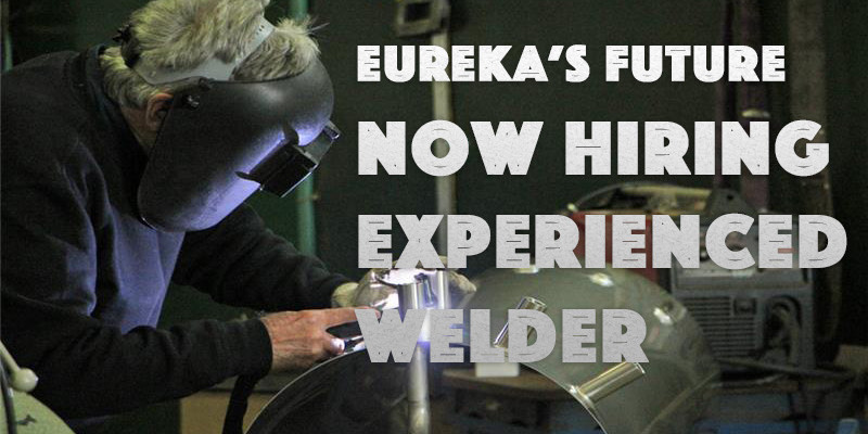 Eureka's Future Workers' Cooperative Seeking Additional Full-Time Welder