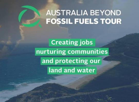 Just Transitions Australia Beyond Fossil Fuels